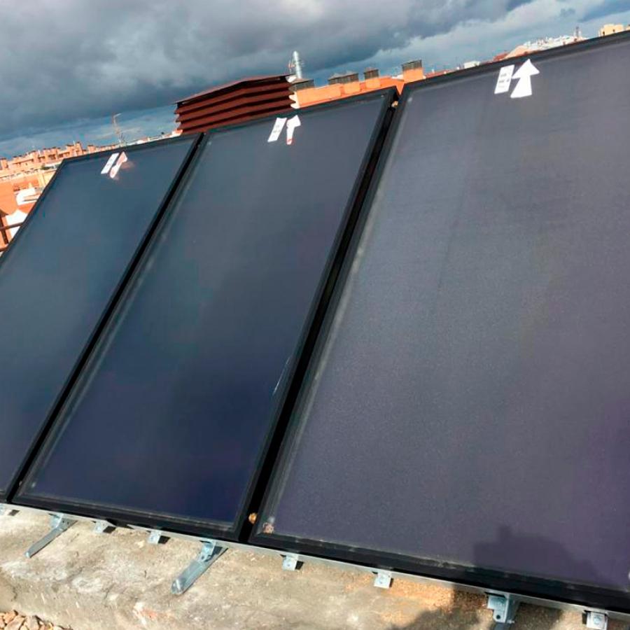 Instalación de Placas Solares Térmicas para viviendas. Placa Solar Térmica