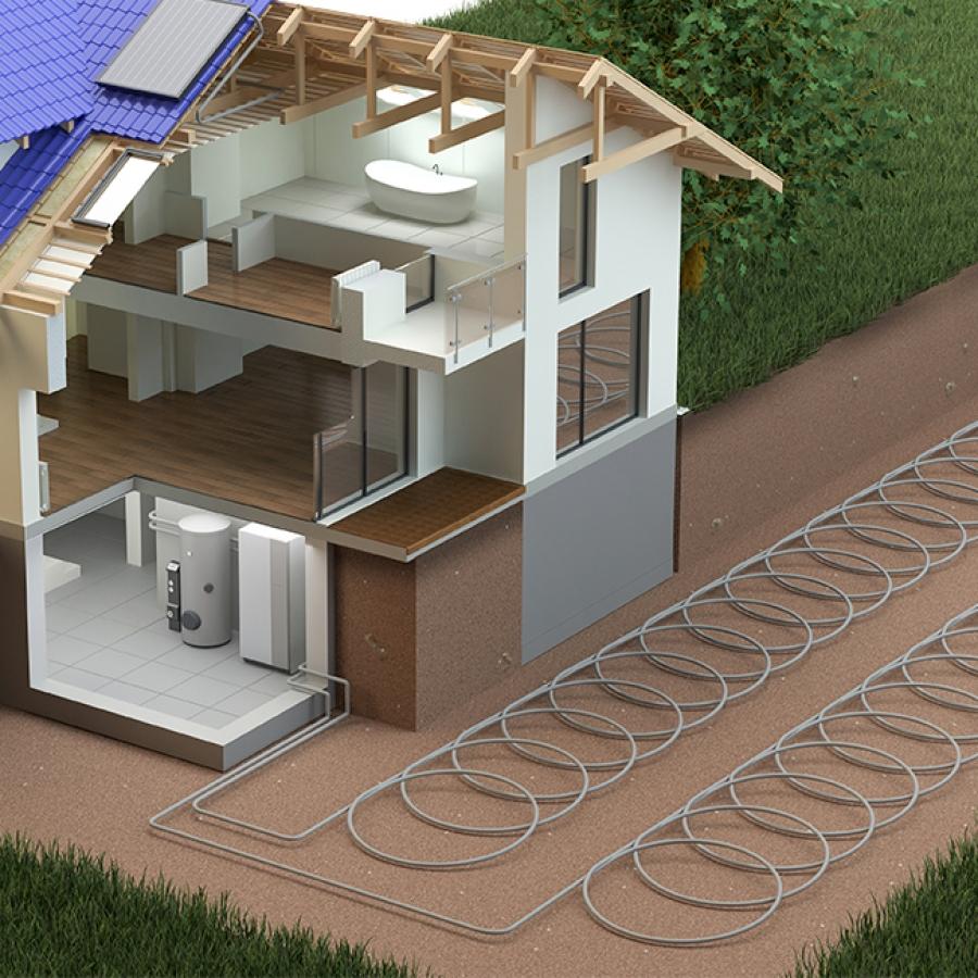 Instalaciones de Geotermia en Madrid. Sistemas de Geotermia
